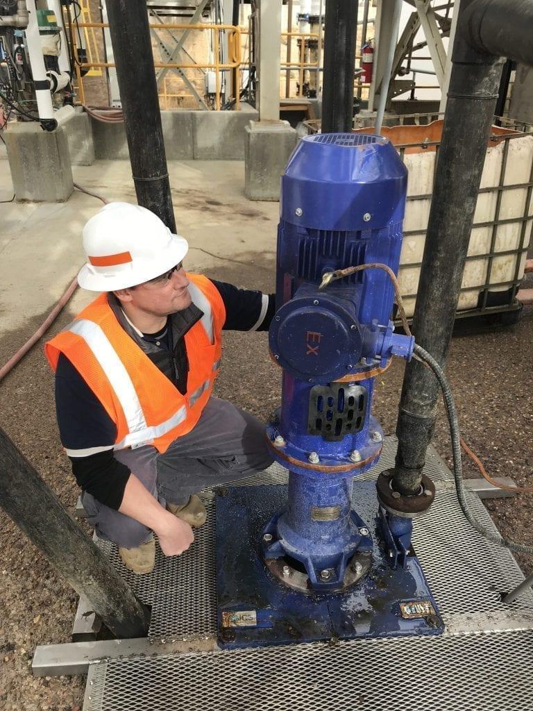 Mill Master Sump Pump installed
