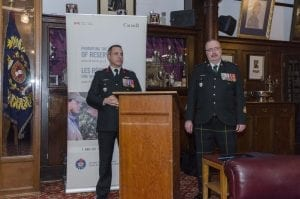The Commanding Officer and Senior enlisted of The British Columbia Canadian Forces Liaison Council