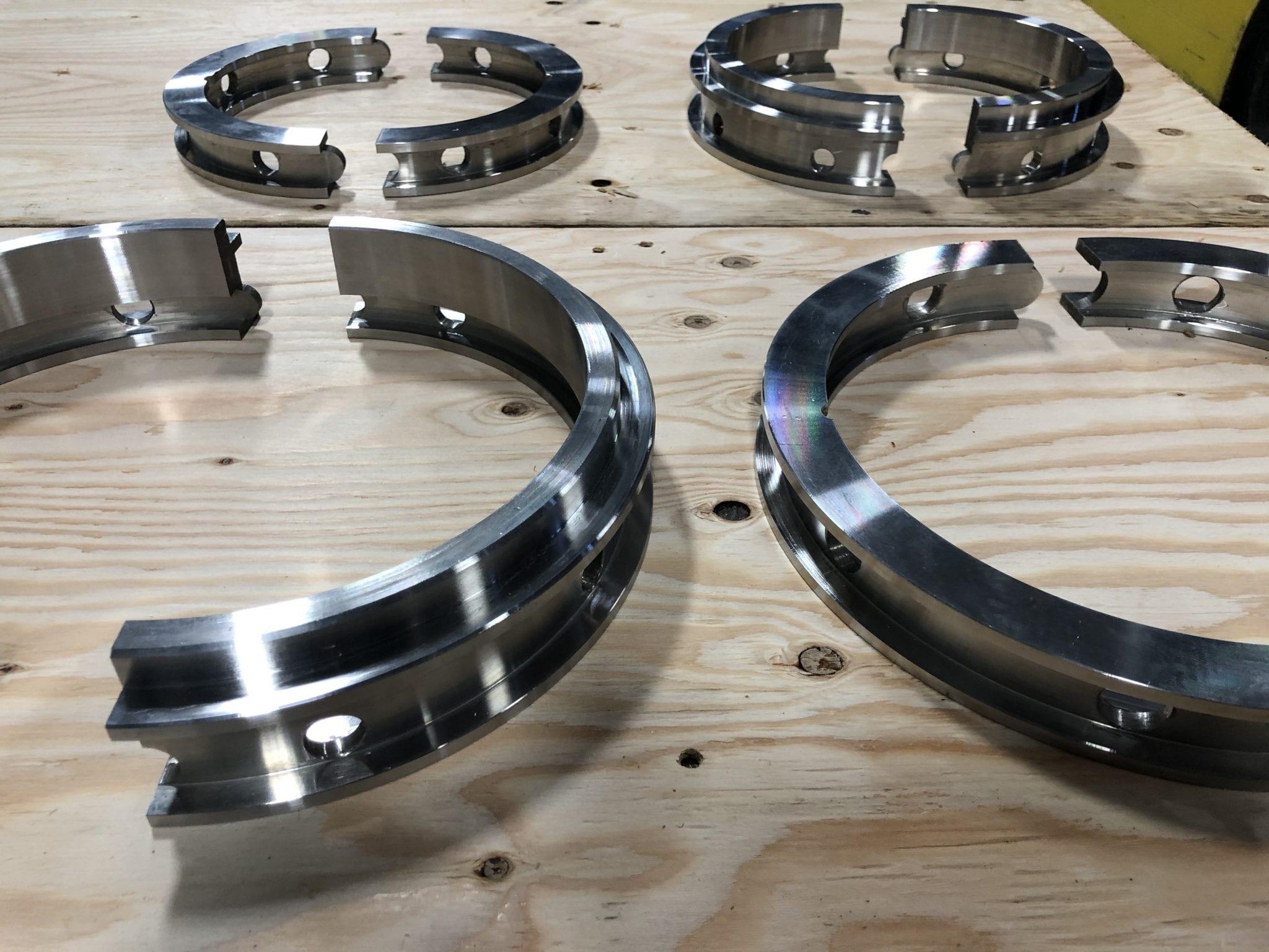 Custom 2 Split Lantern Rings and Restrictors