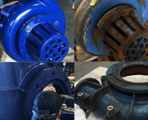 ICS Wear Group Slurry Pump Rebuild