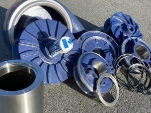 ICS Wear Group Slurry Pump Parts